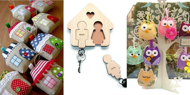 Portachiavi fai da te i pi originali roba da donne for Idee regalo per la casa originali