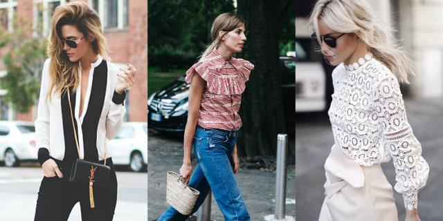Modelli di blusa