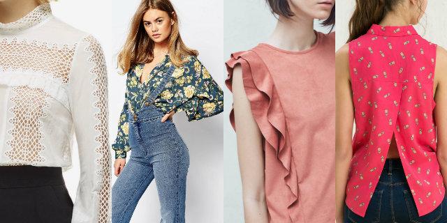 La blusa per la primavera estate 2016