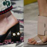 Sabot e Mules: i cavalli di ritorno nella moda scarpe 2016