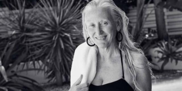 Gilliean modella a 60 anni