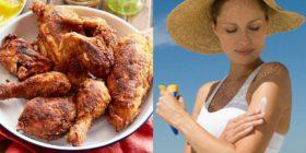 Arriva la protezione solare al profumo… di pollo fritto! Ed è già sold out
