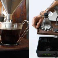 La sveglia che ti prepara anche il caffé: esiste!