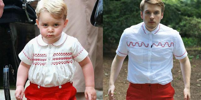 Si veste come il principe George per una settimana: ecco i risultati e perché