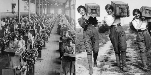 Le donne operaie: parità di salario e permessi di maternità
