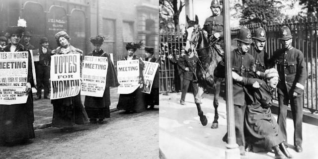 Le suffragette e il diritto al voto delle donne