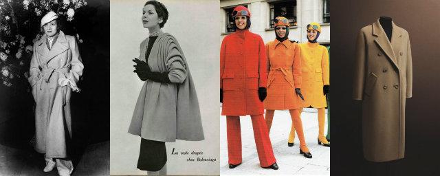 Cappotti storici e nuove proposte moda roba da donne for Storia della moda anni 50