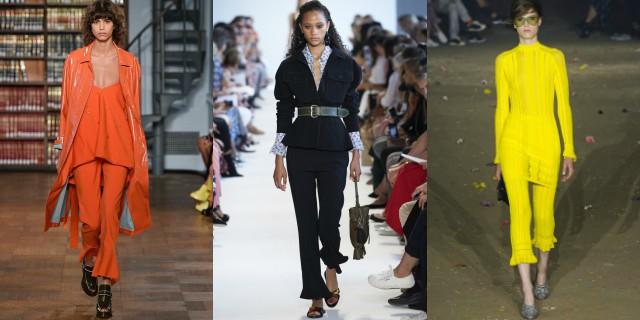 Pantaloni con orlo a balza: il nuovo trend autunno/inverno 2017