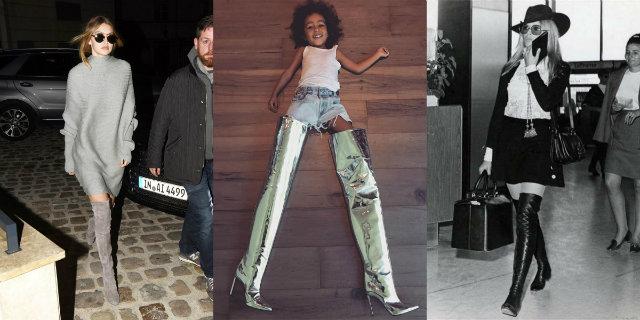 Cuissardes di moda