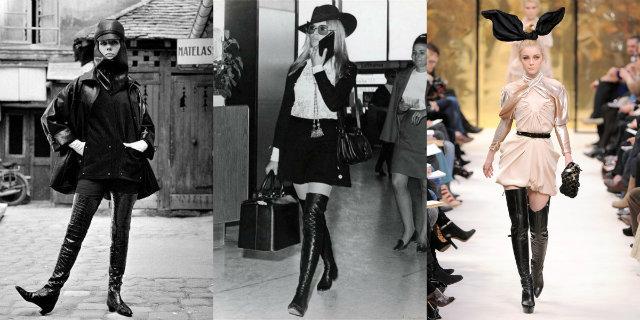 cuissardes nella storia della moda