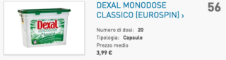 Classifica detersivi bucato