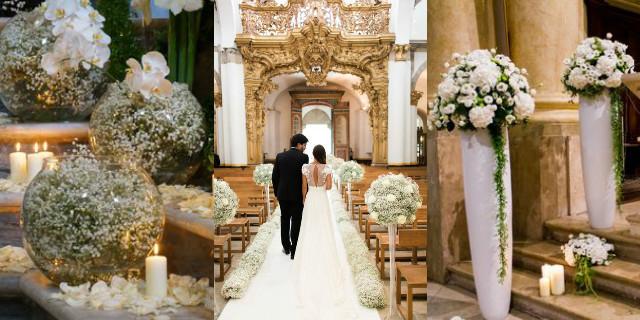 Matrimonio In Chiesa : Addobbi matrimonio idee romantiche e originali roba da