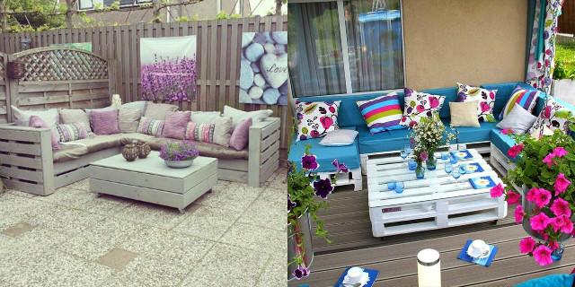 Arredare con i bancali: mobili, divano, letto e altre idee ...