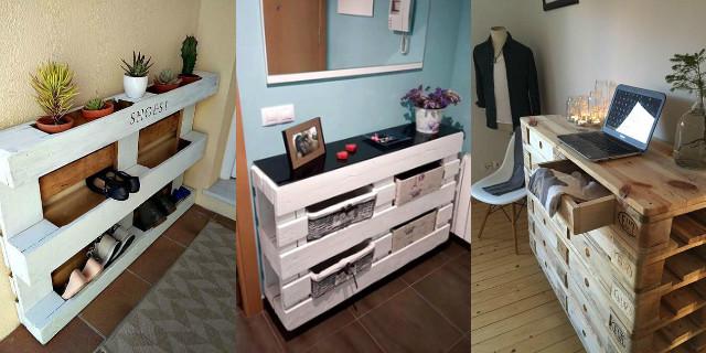 Arredare con i bancali mobili divano letto e altre idee for Bancali legno per arredare