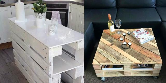 Arredare con i bancali mobili divano letto e altre idee for Lavori con bancali