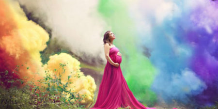 Dopo sei aborti spontanei Jessica celebra la sua gravidanza con queste foto mozzafiato