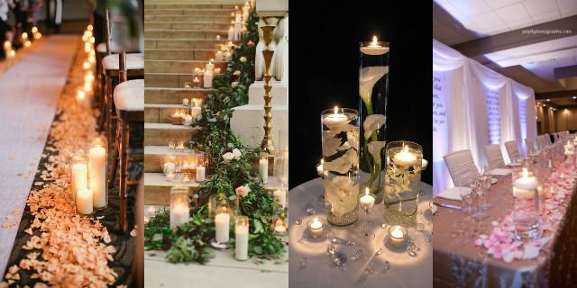 Tema Matrimonio Candele E Lanterne : Addobbi matrimonio: idee romantiche e originali roba da donne