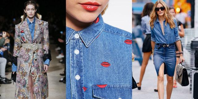Camicia jeans donna  capo eterno sempre alla moda - Roba da Donne 2406683e0ed