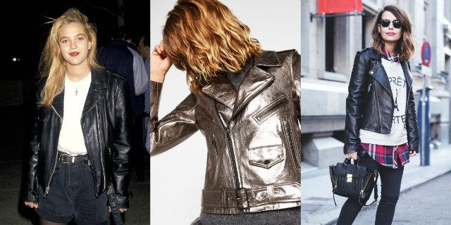 new product 11e57 37cbe Il chiodo: gli outfit più fashion per la giacca in pelle ...