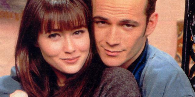 """Beverly Hills 90210: le foto della reunion e le parole di Luke Perry a """"Brenda"""""""