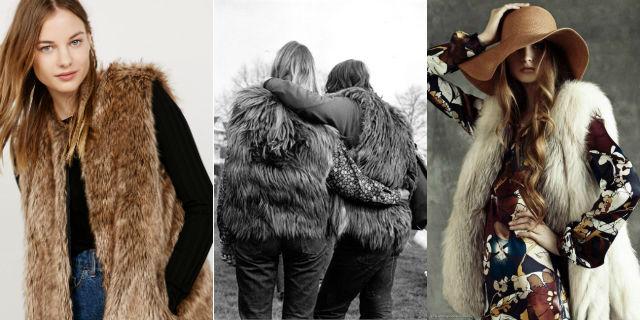 Gilet pelliccia: dagli anni Settanta ad oggi, scopri il must have dell'inverno!
