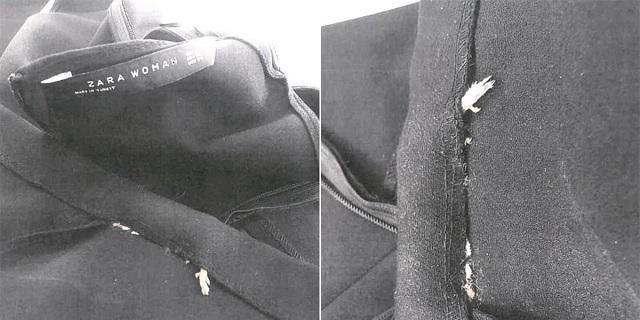 Ancora problemi per Zara: donna trova un topo morto cucito nell'abito