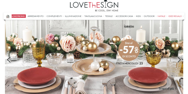 Fonte: homepage LoveTheSign