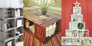 Come arredare casa con le cassette di legno