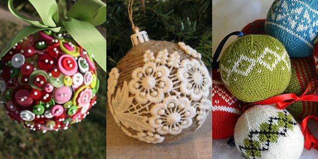 Palline di natale fai da te idee facili e originali - Pacchetti natalizi fai da te ...