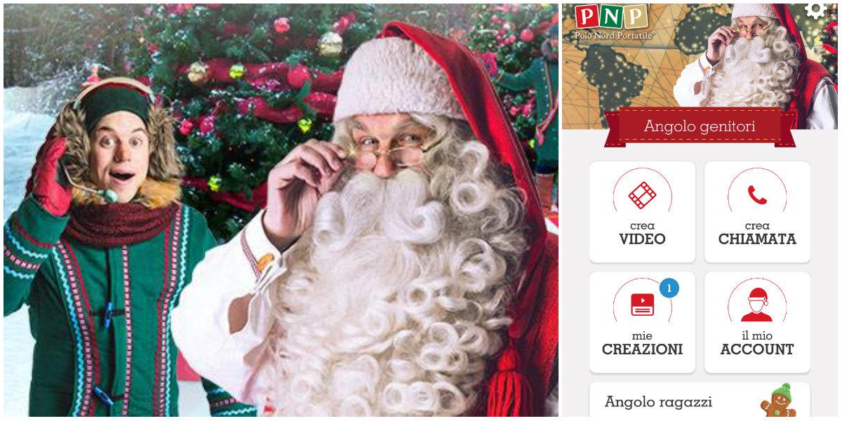 Videochiamata Babbo Natale.5 Motivi Per Scaricare Pnp L App Di Babbo Natale Roba Da Donne