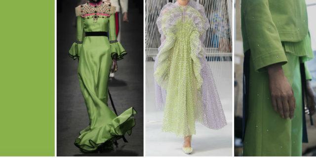 Pantone, il verde Greenery colore del 2017: la moda si tinge di verde!