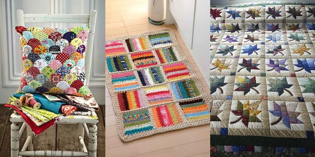 Patchwork: stile, colore e fantasia per rendere la vostra casa più calda e accogliente