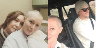"""Shannen Doherty, tra cure e shopping natalizio: """"Ho fatto la radioterapia ma non sono contagiosa"""""""