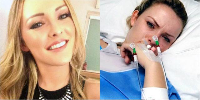 Il messaggio e la battaglia di Helen, si sveglia con il torcicollo e resta paralizzata