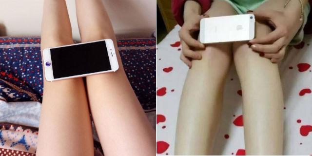 Ecco perché le tue ginocchia dovrebbero stare in un I-Phone 6 (ma anche no!)