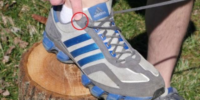 Ecco perché alcune scarpe da ginnastica hanno questi fori