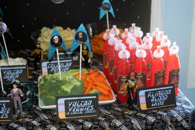 Festa a tema Star Trek