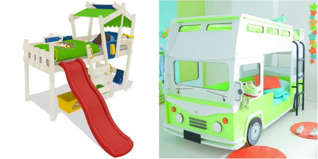 Letto A Castello A Forma Di Autobus.I Letti Per Bambini Piu Belli E Originali Roba Da Donne