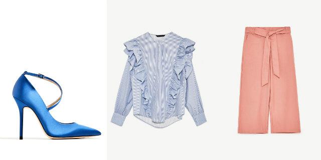 Tra rouches e tessuti morbidi, ecco la nuova collezione Zara primavera estate 2017!