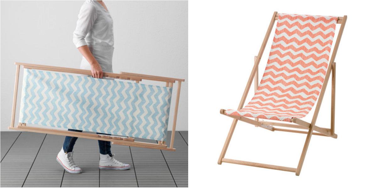 Ikea ritira la sdraio mysings a rischio infortuni roba for Lettino sdraio ikea