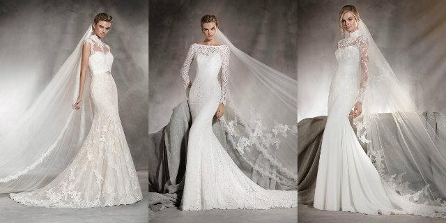 c4d04a03fabc Abiti da sposa Pronovias 2017