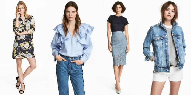H&M primavera estate 2017