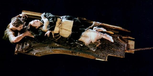 Titanic Jack e Rose zattera