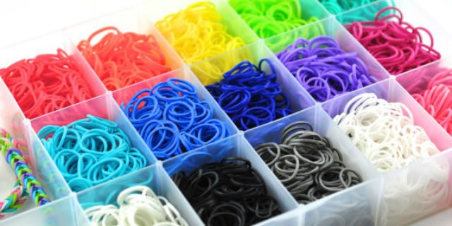braccialetti con elastici senza telaio