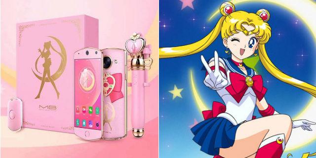 M8 Sailor Moon Edition, arriva lo smartphone con cristallo di luna per selfie incorporato
