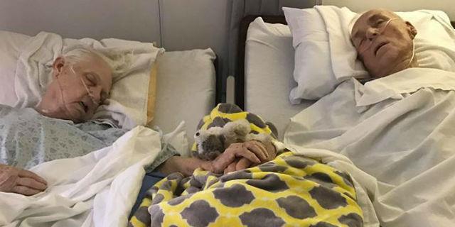 Muoiono insieme, mano nella mano, dopo un amore lungo 62 anni