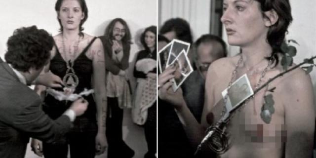 Quando Marina Abramovic lasciò che la gente usasse il suo corpo come un oggetto