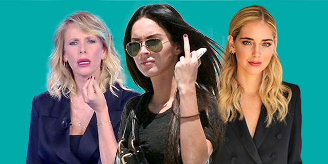 Da Chiara Ferragni a Megan Fox: brutta bestia l'invidia dei frustrati