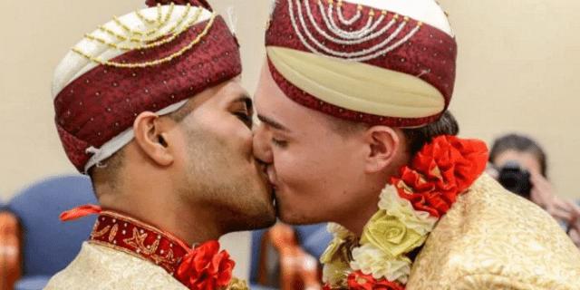 L'amore contro ogni pregiudizio: il primo matrimonio gay per un uomo musulmano