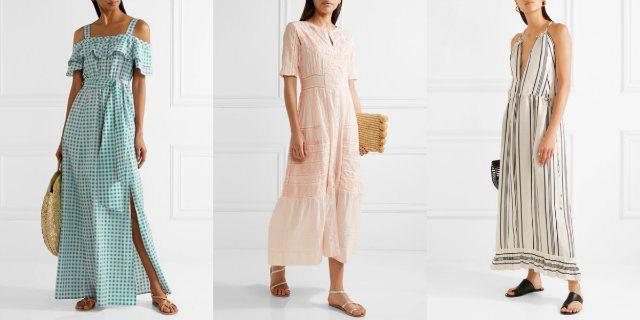 Vestiti lunghi estivi 2017  tendenze e modelli - Roba da Donne 1584fc69308
